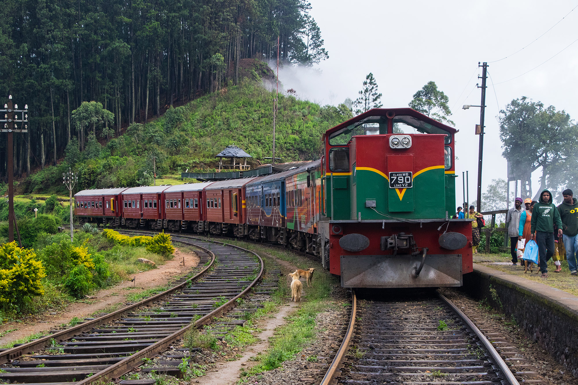 Riding the Sri Lankan Railways